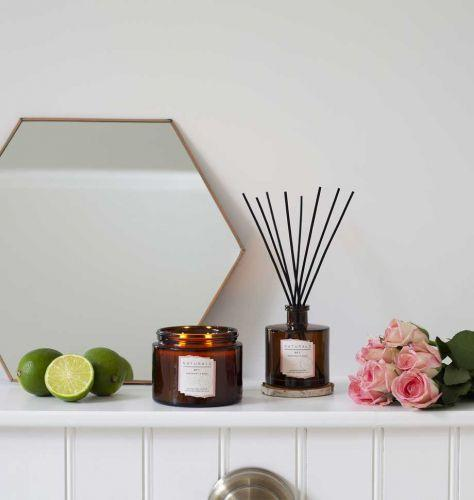 Shearer Candles | Bergamot & Rose | Double Wick Soy Candle - Niche Bazaar Studio