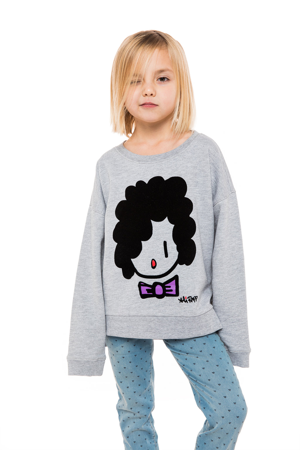 Kids Grey Sweater