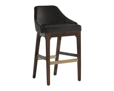 Emeric Barstool - Leo Shale Grey set of 2