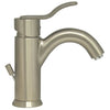 ALICE Brushed Nickel Single Hole/Single Lever Lavatory Faucet with Pop-up Waste