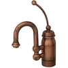 ABEGAIL Baby Horizon Copper Prep Faucet w/ Ext. Handle/Swivel Spout