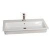 "Harmony 35"" Drop-in wash basin"