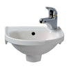 Rosanna Wall Hung Basin, Right