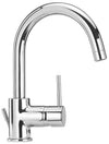 Elba single hole lavatory faucet with two handles in Chrome