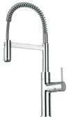 LaTascana Elba single handle kitchen faucet with spring sprout in Chrome