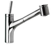 LaTascana Elba single handle joystick pull-out kitchen faucet with 2 function sprayer (stream/spray) in Chrome