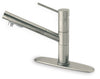 LaTascana Elba single handle pull-out spray kitchen faucet in Brushed Nickel