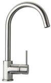 LaTascana Elba single handle pull-down kitchen faucet, stream only in Brushed Nickel