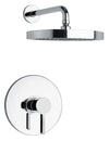 Elix Pressure Balance Shower Set in Chrome