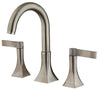 Elix roman tub with lever handles in Brushed Nickel