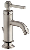 Firenze single lever handle lavatory faucet in Brushed Nickel
