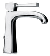 Lady single lever handle lavatory faucet in Chrome