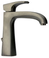 Lady single lever handle lavatory faucet in Brushed Nickel