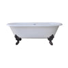 "Gallagher CI 72"" Dbl Roll Tub"