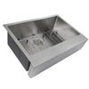 Nantucket Sinks EZApron30 Patented Design Stainless Steel Apron Sink