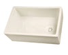 FS30 Single Bowl Fireclay Farmer Sink