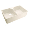 Jolie Double Bowl Fireclay Farmer Sink