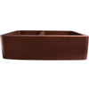 Perla 33 Offset Dbl Bowl