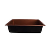Rocio 36 Copper Single Bowl
