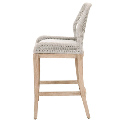 Christop barstool Taupe & White set of 2