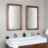 Lacava Sion Wall Mount Mirror 21 Brushed s. Steel