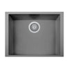 "LaToscana Plados 23"" x 18"" Single Basin Granite Undermount Sink in a Titanium Finish"