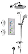 Smart Bath Digital Shower System  Brushed Nickel ST FI OPT 2