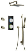 Smart Bath Digital Shower System Brushed Nickel ST FI OPT 4