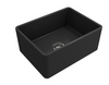 BOCCHI 24in. Classico Farmhouse Sink in Matte Dark Gray
