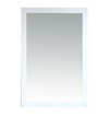 "Sterling Fully Framed 24"" White Mirror"