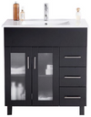 Nova 32 - Espresso Cabinet + Ceramic Basin Counter