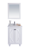 Odyssey - 24 - White Cabinet + White Carrera Counter