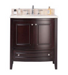 Estella 32 - Brown Cabinet + Jerusalem Gold Counter