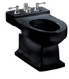 TOTO® Lloyd® Deck Mount Vertical Spray Flushing Rim Bidet, Ebony - BT930B#51