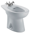 TOTO® Piedmont® Single Hole Deck Mounted Faucet Bidet, Cotton White - BT500AR#01