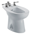 TOTO® Piedmont® Deck Mount Vertical Spray Flushing Rim Bidet, Colonial White - BT500B#11