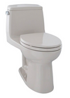 TOTO® Eco UltraMax® One-Piece Elongated 1.28 GPF Toilet, Sedona Beige - MS854114E#12