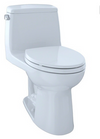 TOTO® Eco UltraMax® One-Piece Elongated 1.28 GPF Toilet with CeFiONtect™, Cotton White - MS854114EG#01