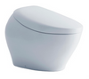 TOTO® NEOREST® NX1 Dual Flush 1.0 or 0.8 GPF Toilet with Integrated Bidet Seat and EWATER+®, Cotton White - MS900CUMFG#01