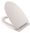 TOTO SoftClose Non Slamming, Slow Close Elongated Toilet Seat and Lid, Bone - SS124#03