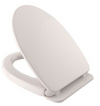 TOTO SoftClose Non Slamming, Slow Close Elongated Toilet Seat and Lid, Colonial White - SS124#11