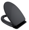 TOTO SoftClose Non Slamming, Slow Close Elongated Toilet Seat and Lid, Ebony - SS124#51