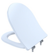 TOTO® MH™ Slim D-Shape Front SoftClose® Seat, Cotton White - SS237#01