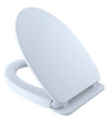 TOTO® Traditional SoftClose® Non Slamming, Slow Close Elongated Toilet Seat and Lid, Cotton White - SS154#01