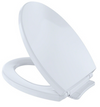 TOTO® Traditional SoftClose® Non Slamming, Slow Close Elongated Toilet Seat and Lid, Bone - SS154#03