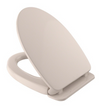 TOTO® Traditional SoftClose® Non Slamming, Slow Close Elongated Toilet Seat and Lid, Sedona Beige - SS154#12