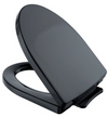 TOTO® Traditional SoftClose® Non Slamming, Slow Close Elongated Toilet Seat and Lid, Ebony - SS154#51