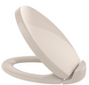 TOTO® Oval SoftClose® Non Slamming, Slow Close Elongated Toilet Seat and Lid, Bone - SS204#03