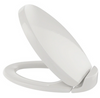 TOTO® Oval SoftClose® Non Slamming, Slow Close Elongated Toilet Seat and Lid, Colonial White - SS204#11