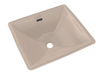 TOTO® Legato® Rectangular Undermount Bathroom Sink with CeFiONtect™, Bone - LT624G#03